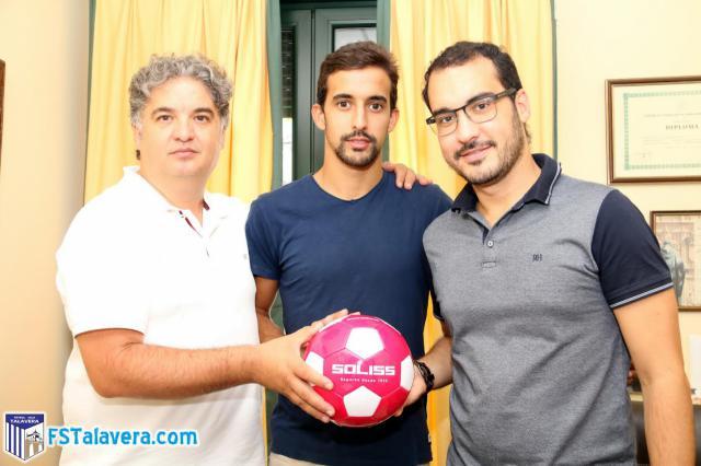 Panucci se convierte en la primera renovación del Soliss FS Talavera