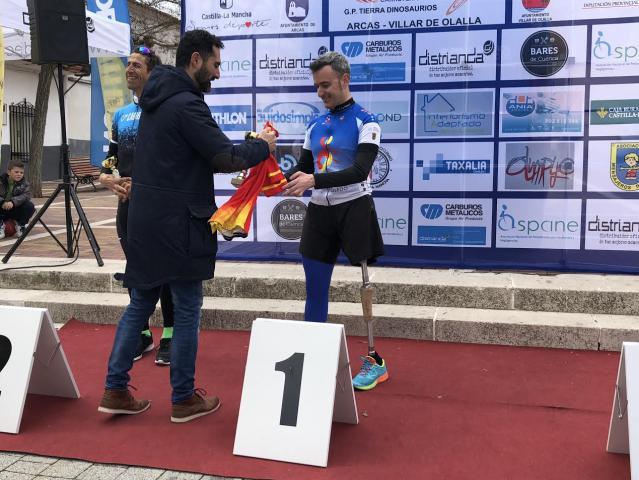 El alberchano David Soria se proclama campeón Regional de Ciclismo Adaptado