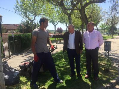 39 vecinos de San Román de los Montes se han beneficiado de los planes y talleres de empleo de la Junta