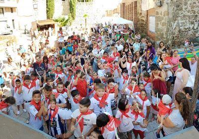 Puerta de Zamora pone fin a una semana de Fiestas en honor a Santiago Apostol