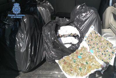Desarticulado un grupo criminal que exportaba marihuana cultivada en Toledo a países europeos