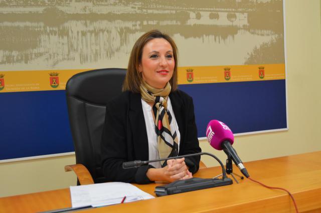 La portavoz del equipo de Gobierno, María Rodríguez