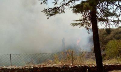 Declarado un importante incendio en Las Herencias