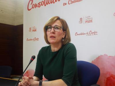 La portavoz del Grupo socialista, Blanca Fernández