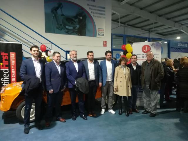 Centro de Reparaciones Hnos. Jiménez inaugura sus nuevas instalaciones en Talavera