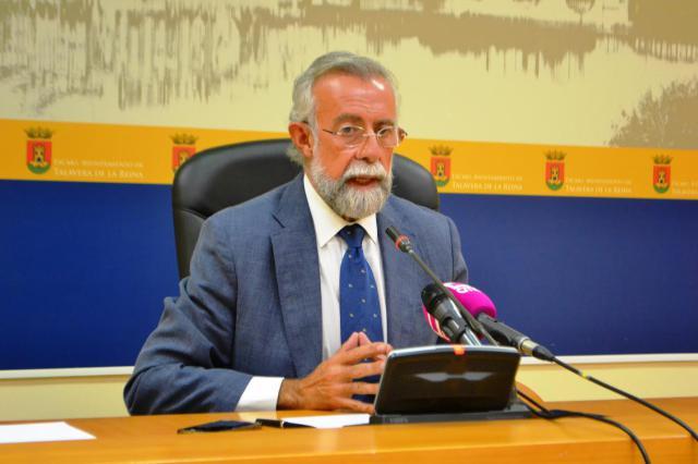 El alcalde de Talavera de la Reina, Jaime Ramos