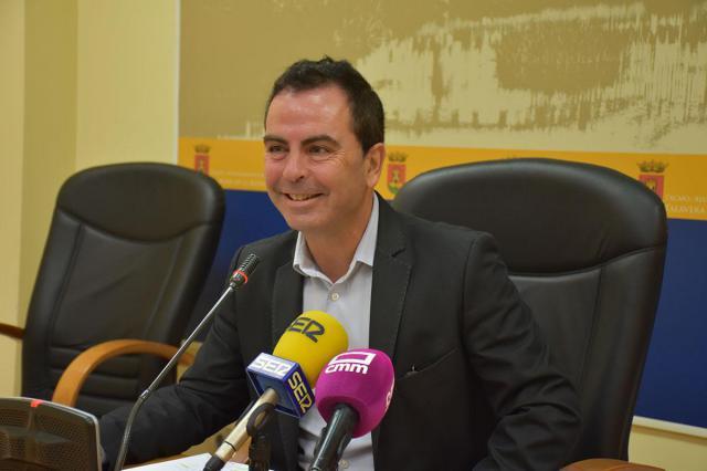 El portavoz del Grupo Socialista, José Gutiérrez