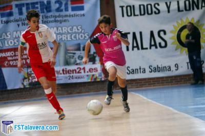 La Academia del Soliss FS Talavera estrena su casillero de puntos en Liga Regional