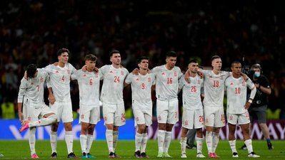España no puede con Italia en los penaltis