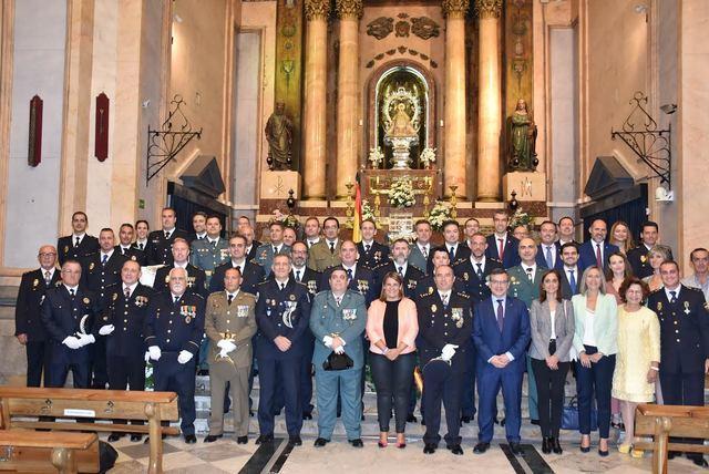 FOTOS | Homenaje a la Policía Nacional de Talavera el día de los Ángeles Custodios