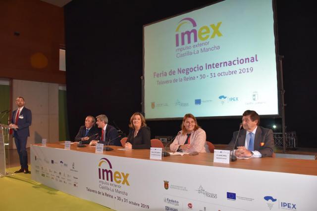 Fotos de la inauguración en Talavera de la Feria de Impulso Exterior IMEX CLM