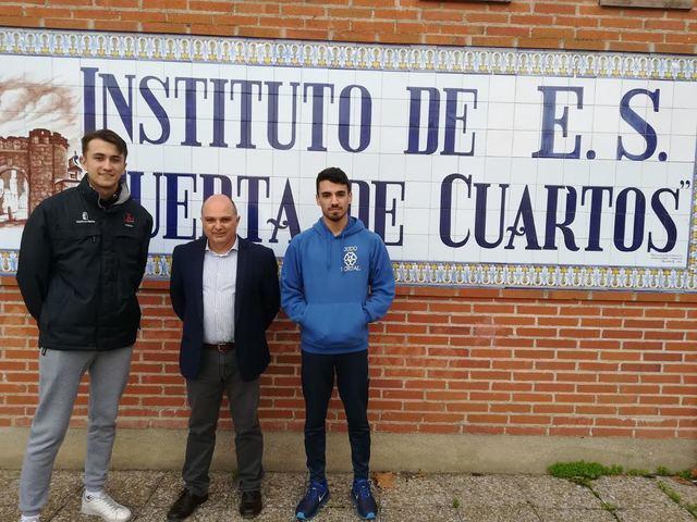 Kevin Bravo, del IES Puerta de Cuartos, campeón de España de Kárate ...