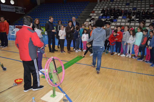 Organizan talleres en Talavera para concienciar a los alumnos en el Día Internacional de la Discapacidad