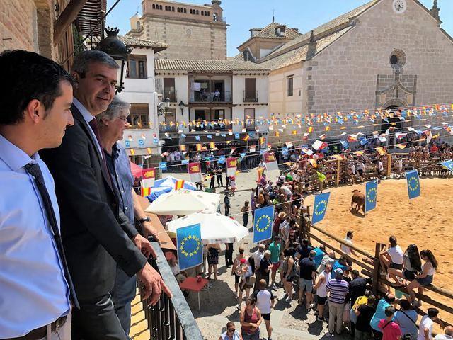 La Diputación de Toledo se compromete en colaborarar en el desarrollo de La Puebla de Montalbán