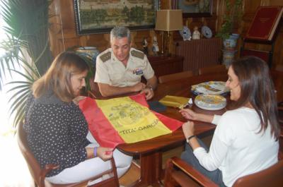 Tita García se reúne con el delegado Defensa en CLM