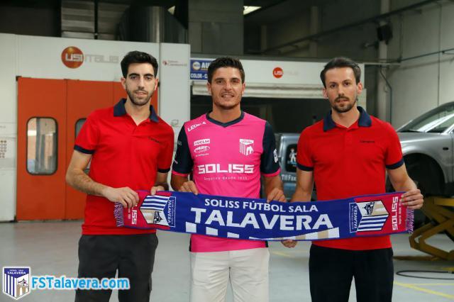 El Soliss FS Talavera se hace con los servicios de un 'todoterreno' como es Pepe