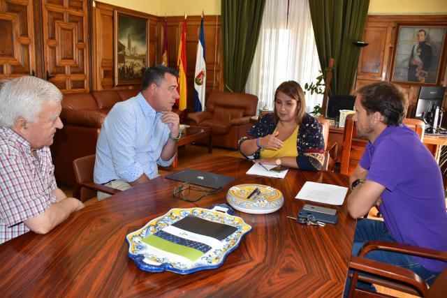 El Ayuntamiento reitera su intención de colaborar con el CF Talavera