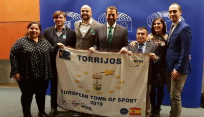 Torrijos ya tiene el título de 'Villa Europea del Deporte'