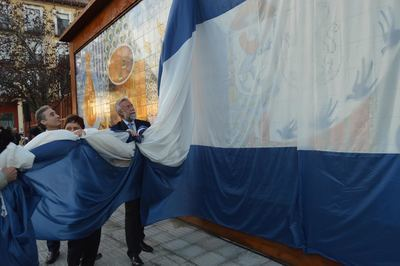 Inaugurado el mural sobre el oficio cerámico (FOTOS)
