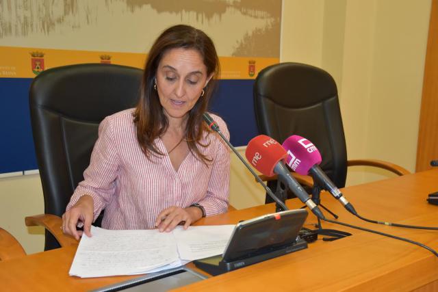 Bellón aclara la polémica con VOX sobre la grabación del Pleno y la moción
