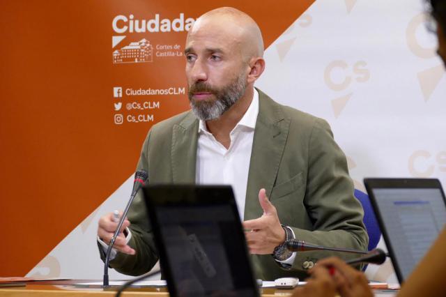 El diputado regional David Muñoz