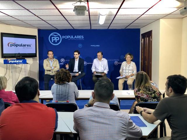 """Serrano: """"El PP va a hacer una campaña de propuestas y no de propaganda"""
