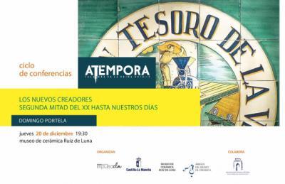 Conferencia de Domingo Portela en el ciclo 'aTempora Talavera'