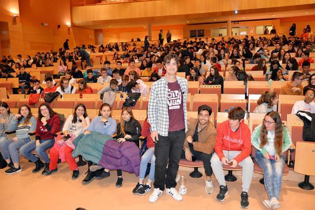 La UCLM acerca la ciencia a los alumnos de Bachillerato a través del humor