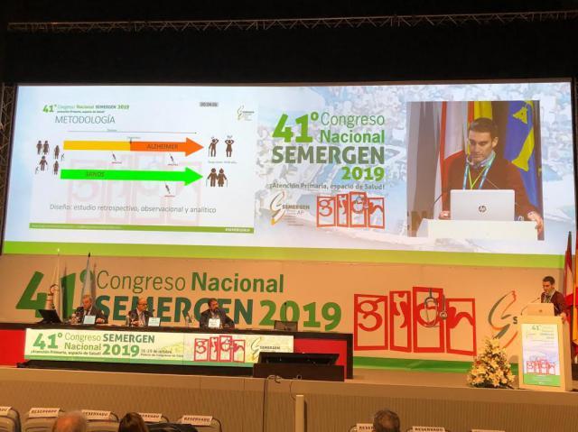 Un médico talaverano gana el primer premio del Congreso Nacional SEMERGEN con un trabajo sobre colesterol y Alzheimer