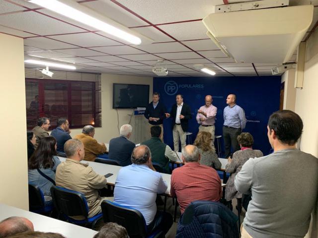 Reunión del PP con alcaldes de la comarca de Talavera para