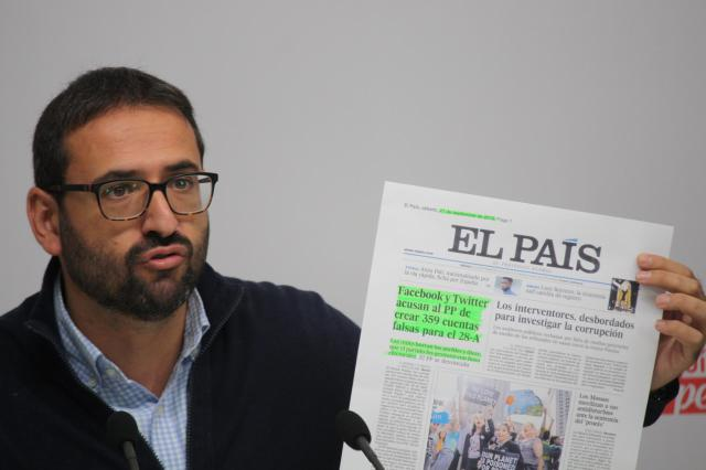 """Piden el cese o la dimisión de Serrano por """"ser al menos conocedor cuando no alentador"""" del 'caso Porras'"""