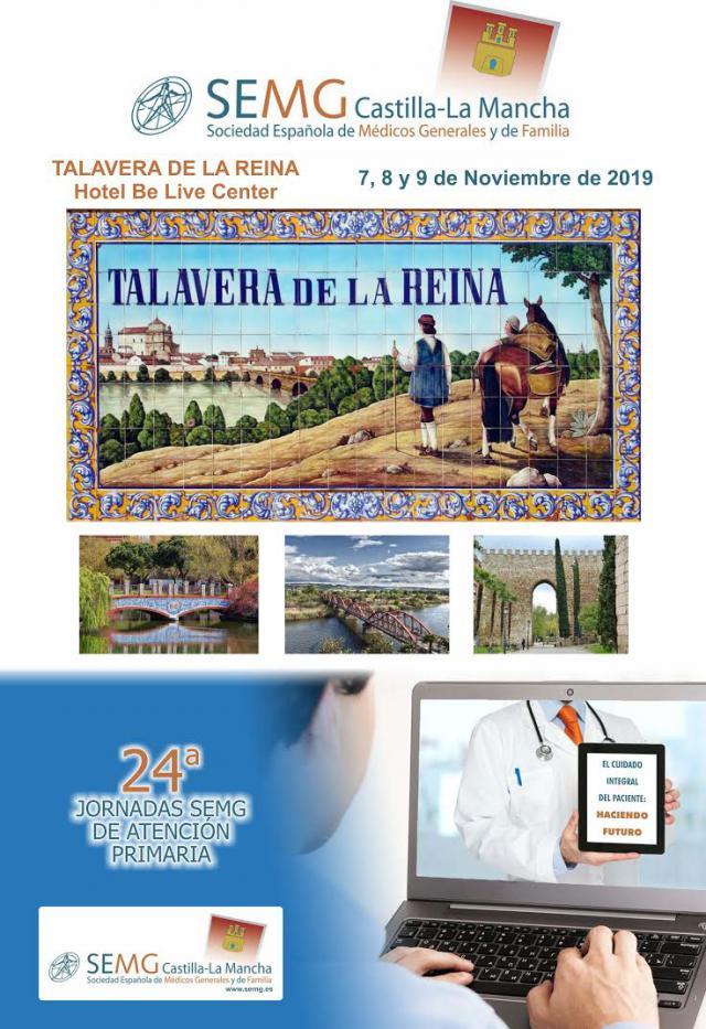 Talavera acoge las XXIV Jornadas SEMG de Atención Primaria