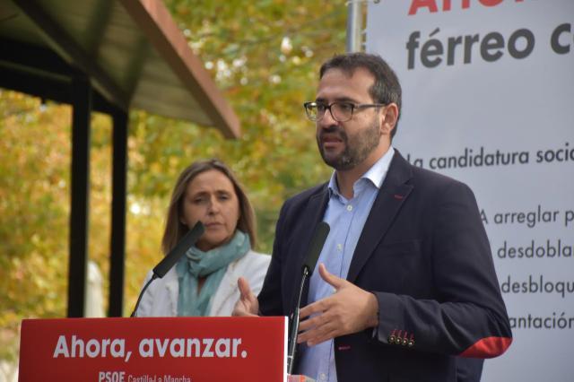 Gutiérrez: 'Seremos los aliados de Talavera para que dé zancadas en la recuperación tras 7 años perdidos de Gobierno del PP'