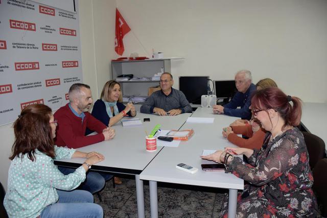 Los candidatos socialistas se comprometen con Talavera en materia de infraestructuras