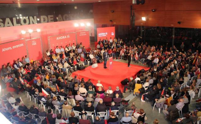"""Carmen Calvo en Talavera: 'PP y Ciudadanos no han sido capaces de frenar a VOX, el auténtico fascismo del Siglo XXI"""""""