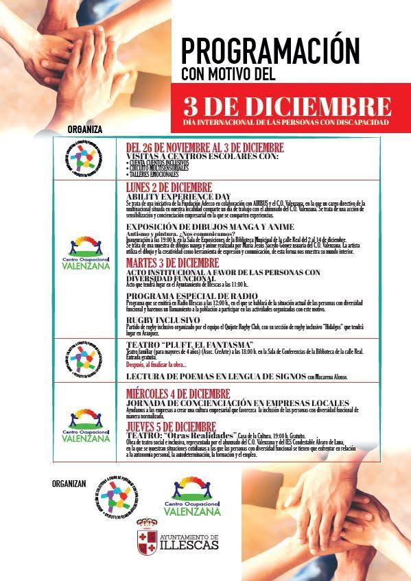 Illescas se suma a la celebración del Día de las Personas con Discapacidad