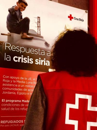 Campaña de sensibilización de Cruz Roja Talavera sobre la crisis Siria