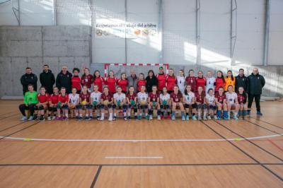Apoyo a las selecciones infantil y cadete de balonmano de Castilla-La Mancha