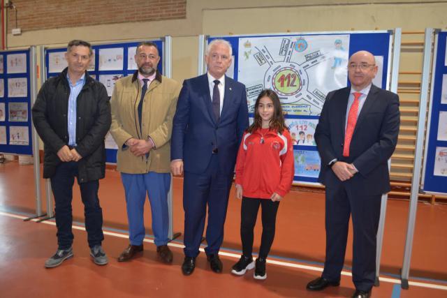 Una alumna del Colegio Clemente Palencia gana el concurso del 112
