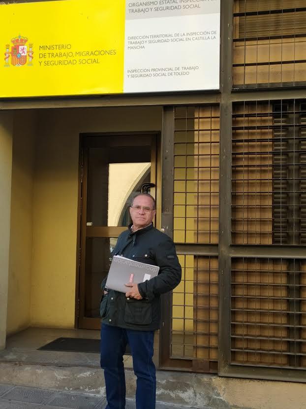CCOO denuncia una confabulación para boicotear la huelga de autobuses en Talavera