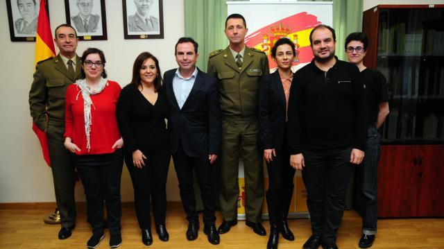 Las Fuerzas Armadas premian a la talaverana Sofía García, del colegio Maristas
