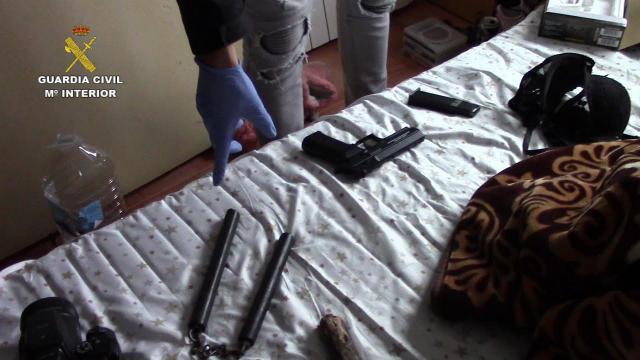 Desarticulado un peligroso grupo criminal que actuaba en la provincia de Toledo