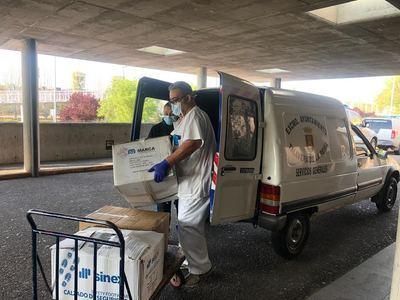 TALAVERA | El Ayuntamiento entrega un centenar de máscaras de esnórquel más al Hospital
