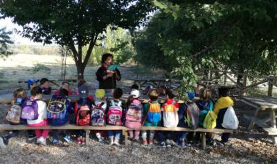 'El río pasa por tu cole', en el programa de Educación Ambiental de la CHT en Cazalegas