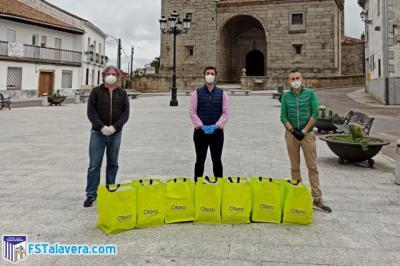 SOLIDARIDAD | Soliss FS Talavera y Cárnicas Otero sigue llevando alimentos por la comarca