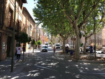 TALAVERA | Más terrazas: el Ayuntamiento elimina el aparcamiento de la Corredera