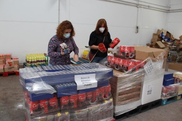 TORRIJOS | Mercadona y el banco de Alimentos de Toledo donan 3,5 toneladas de productos para familias necesitadas