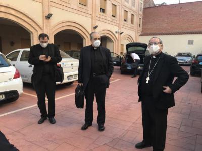 VÍDEO | El arzobispo de Toledo visita a los sacerdotes de Talavera y comarca