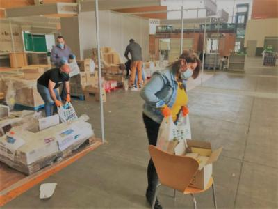 TALAVERA | 6.500 kilos más de alimentos y productos de higiene para las familias necesitadas