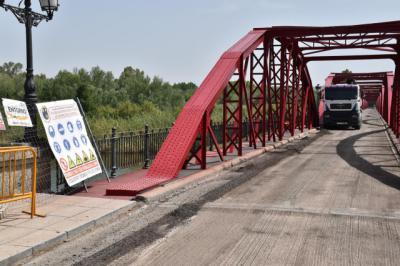 TALAVERA | Continúan las obras en el Puente de Hierro